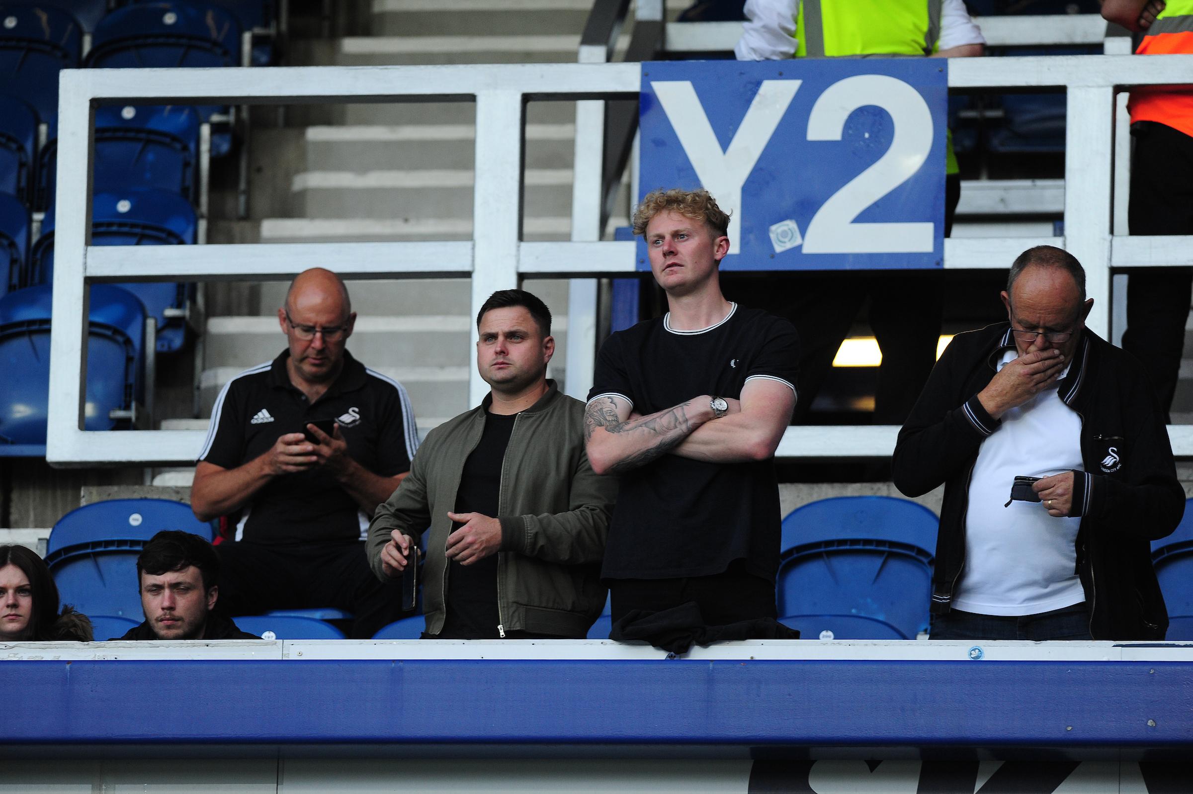 Swansea City fans