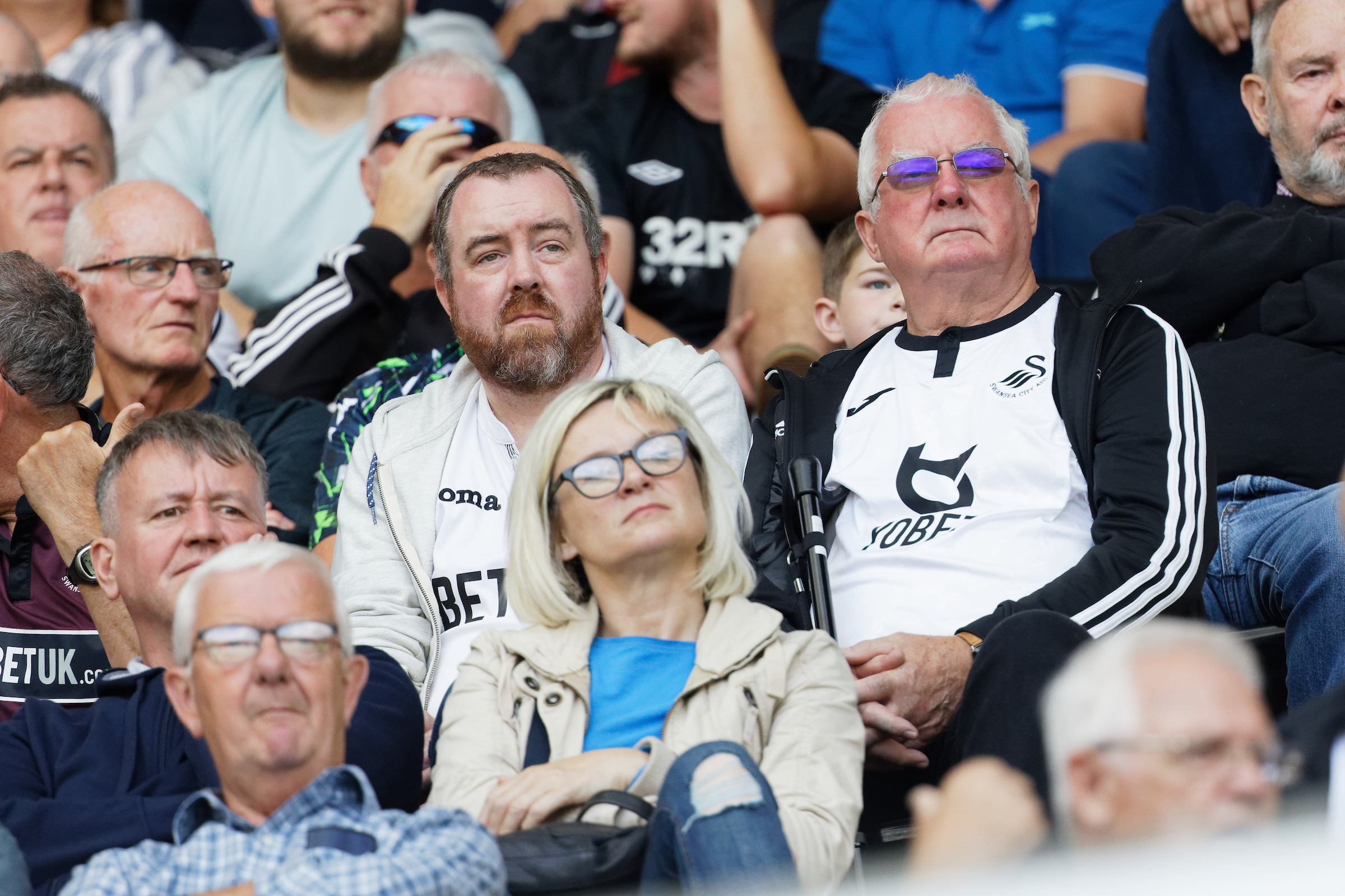 Swansea City supporters