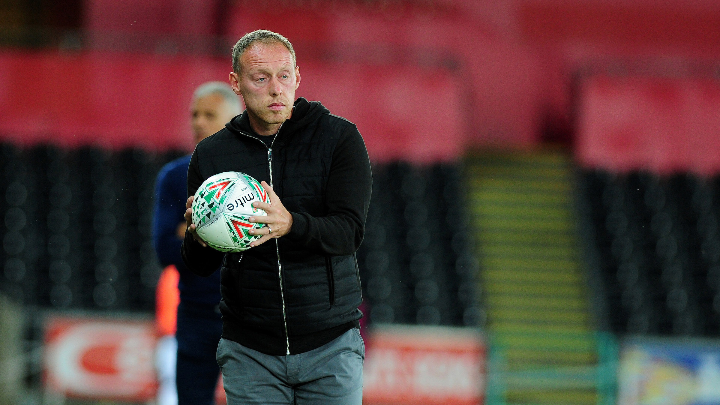 Swansea City head coach Steve Cooper