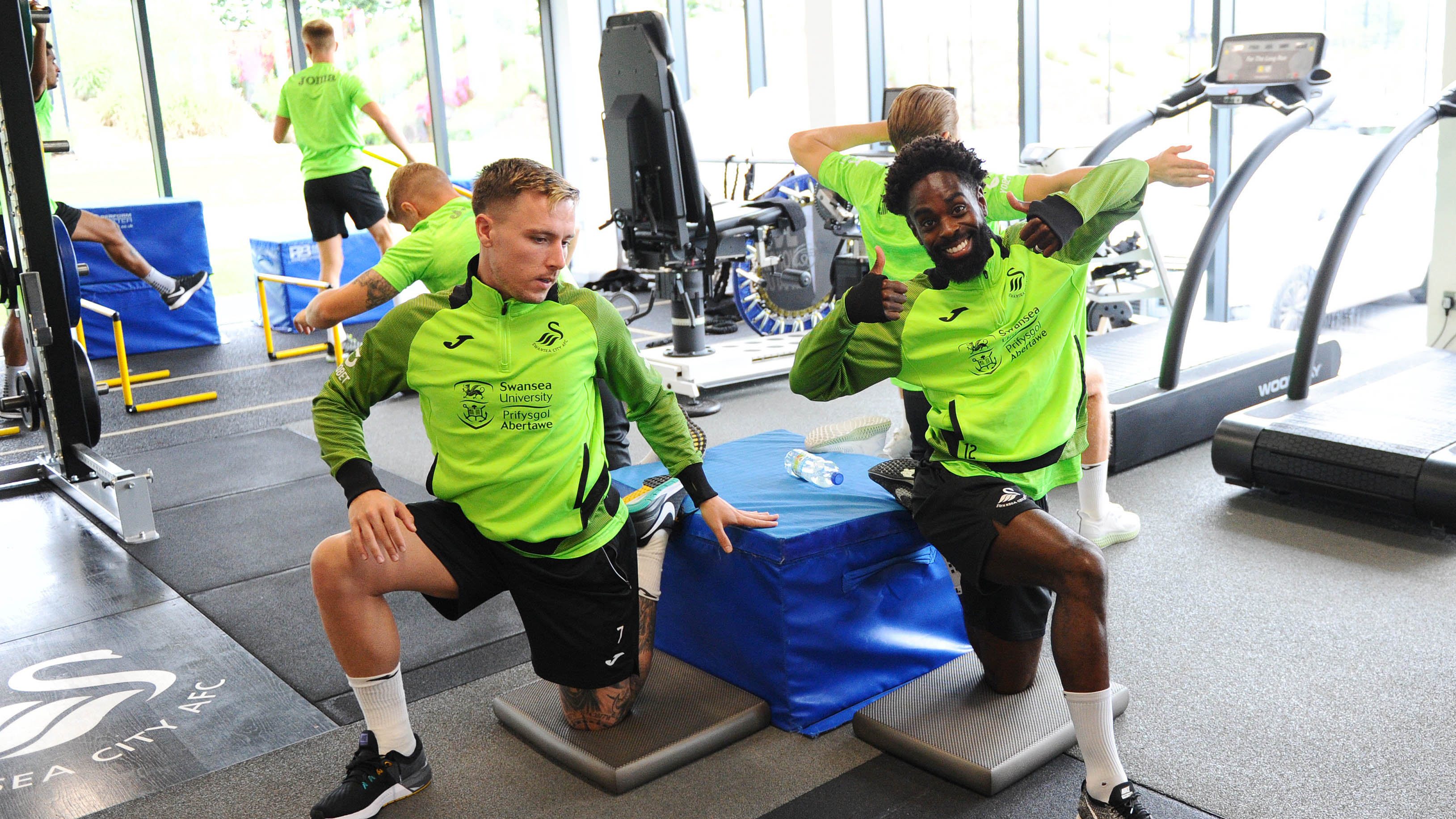 Barrie McKay and Nathan Dyer