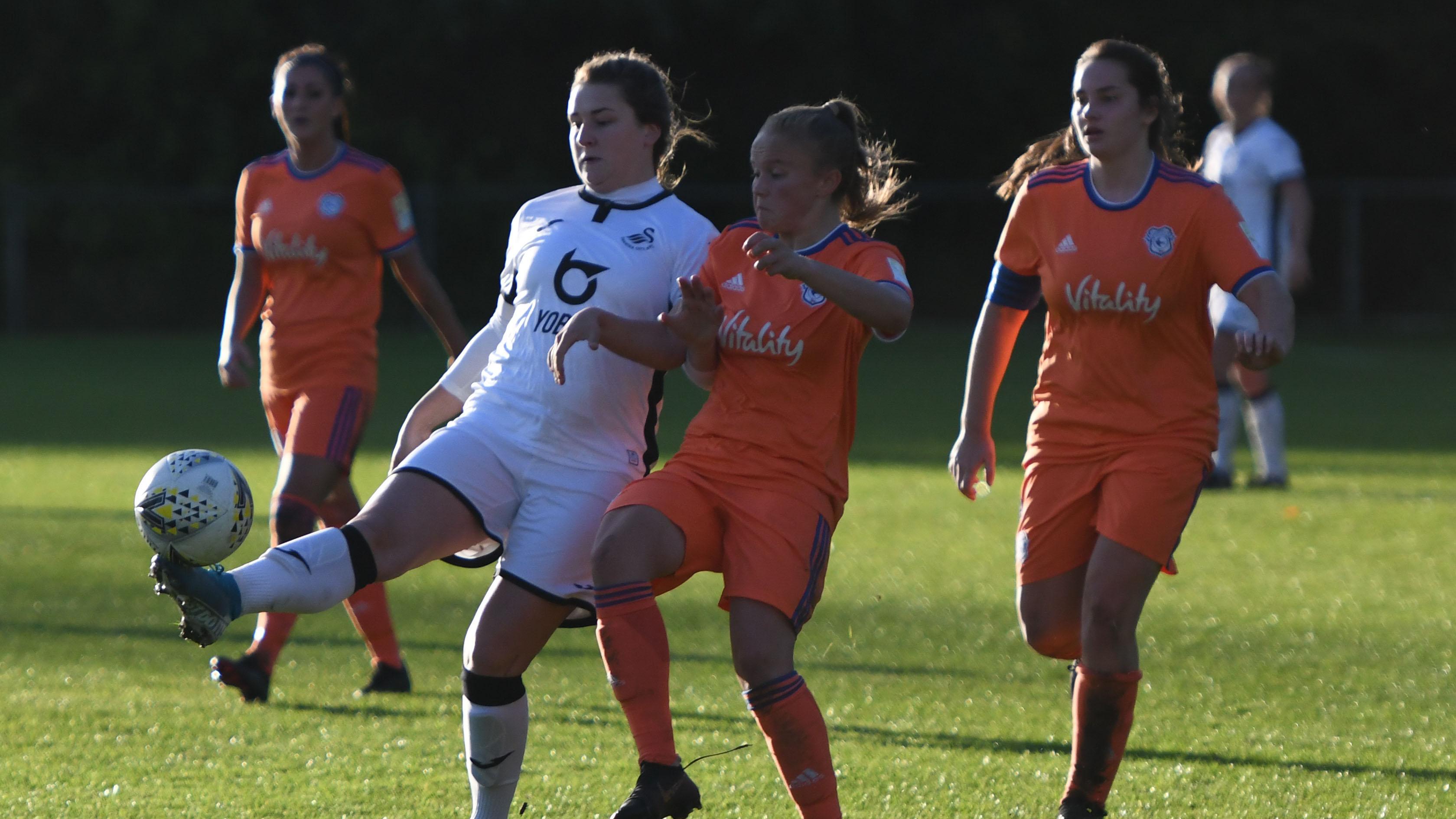 Swansea City Ladies v Cardiff City