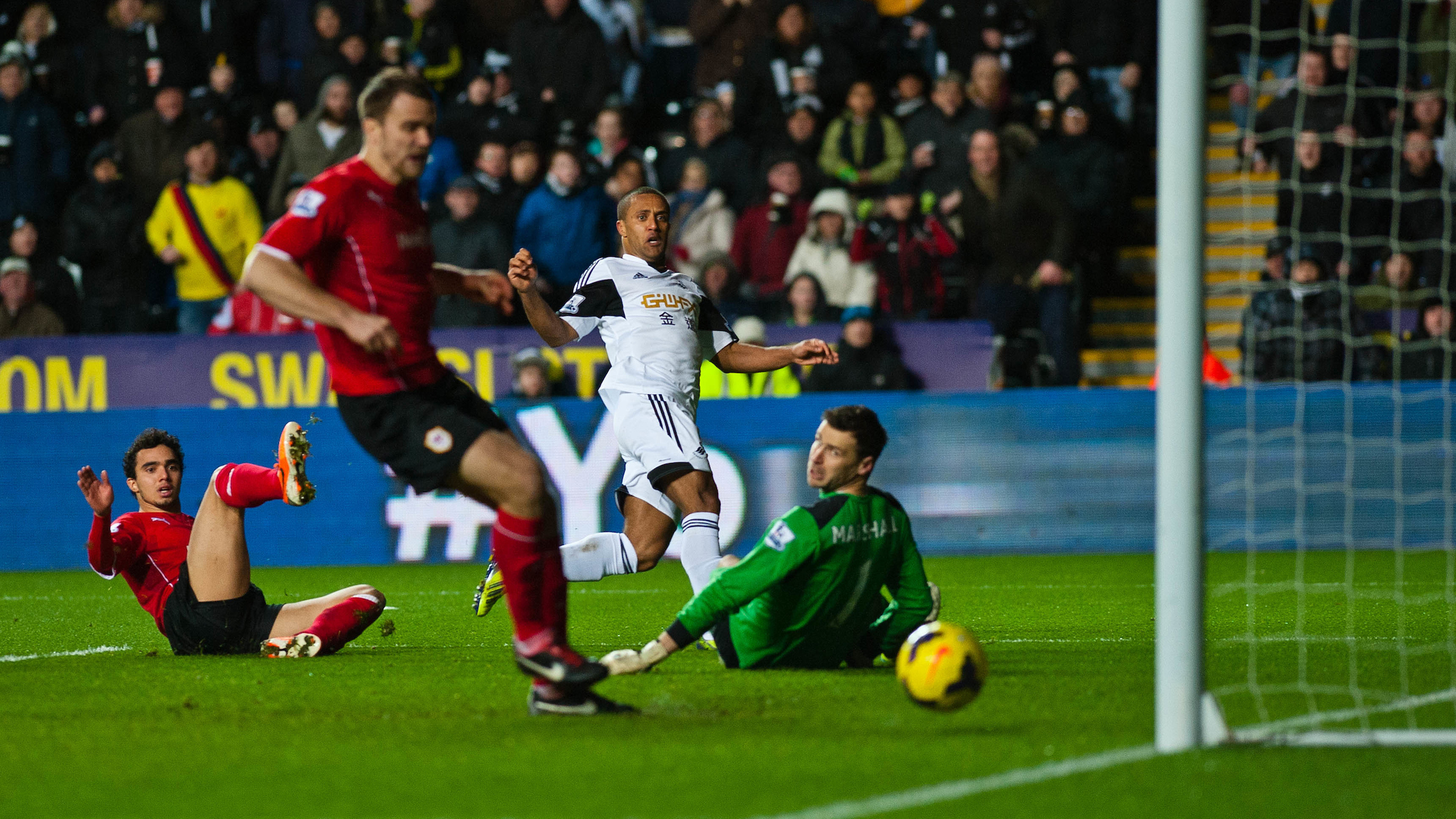 Wayne Routledge Cardiff