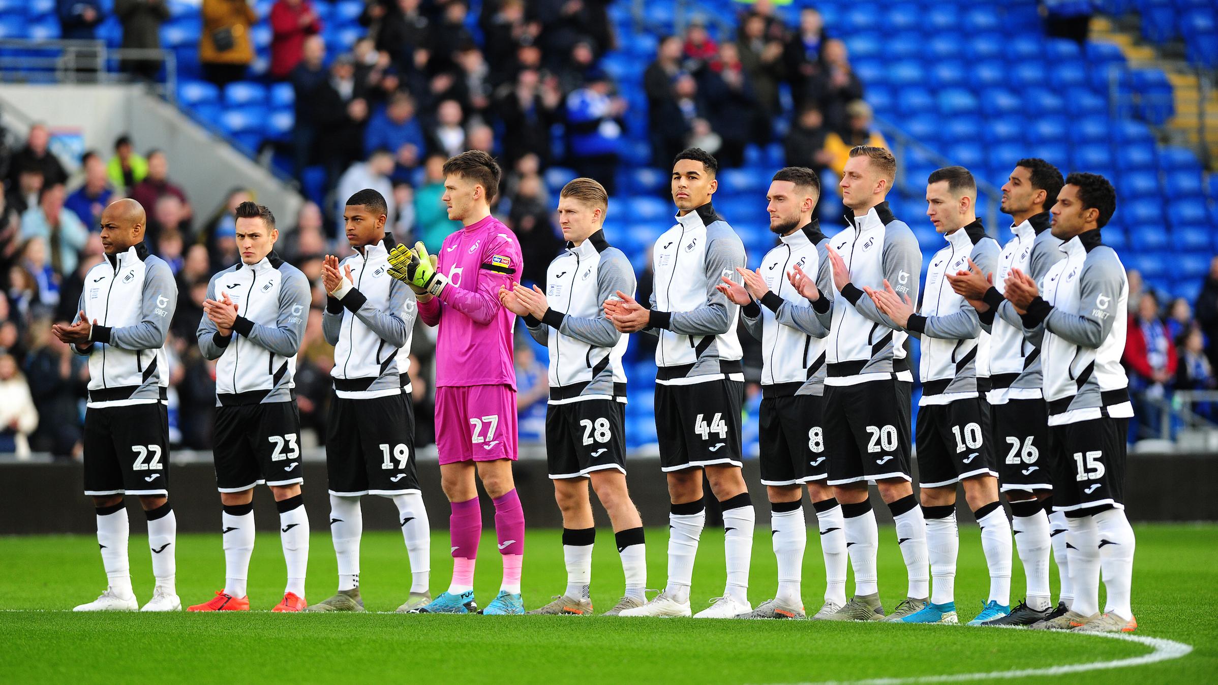 Cardiff team line-up