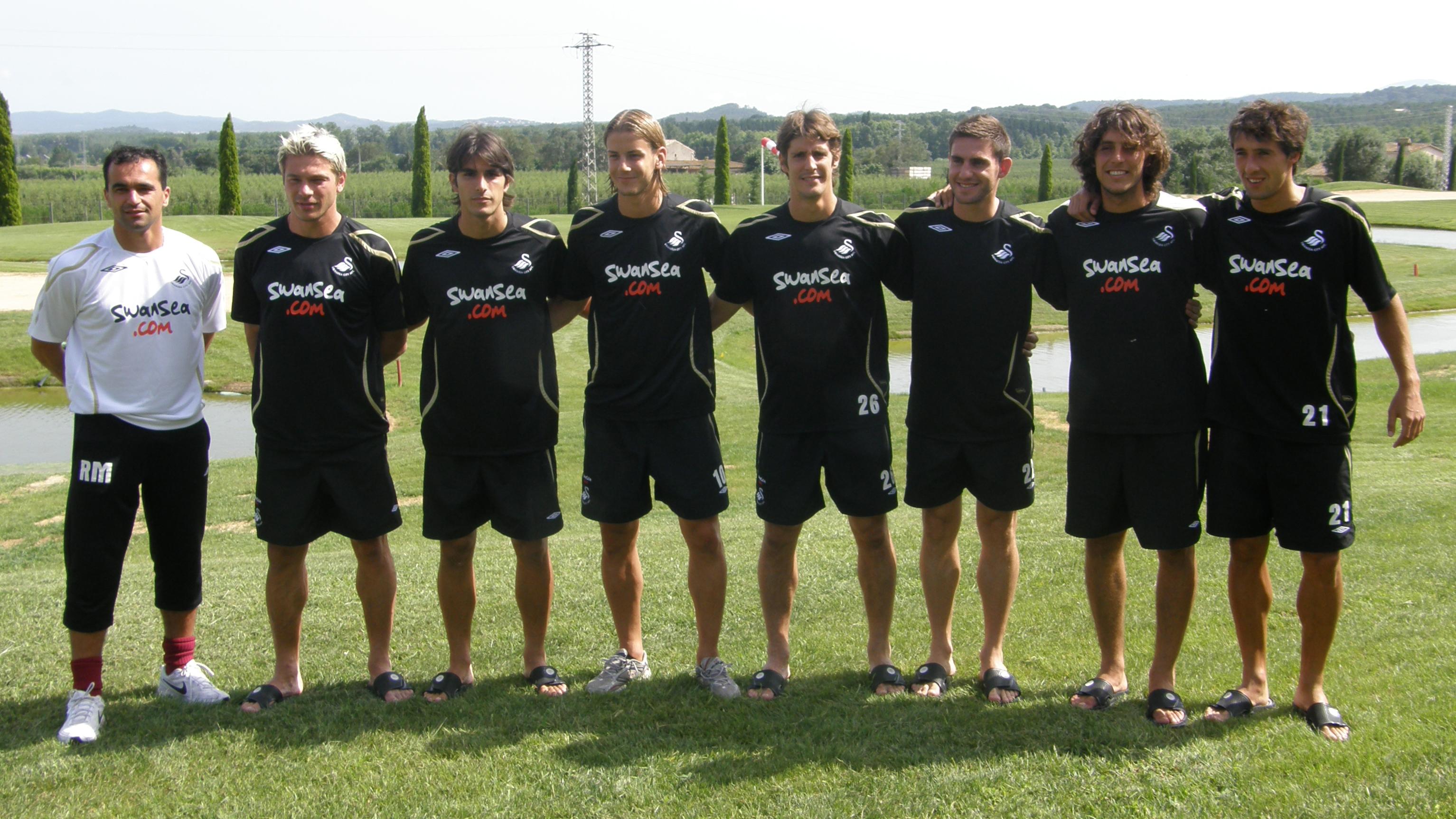 Spanish Swans Martinez
