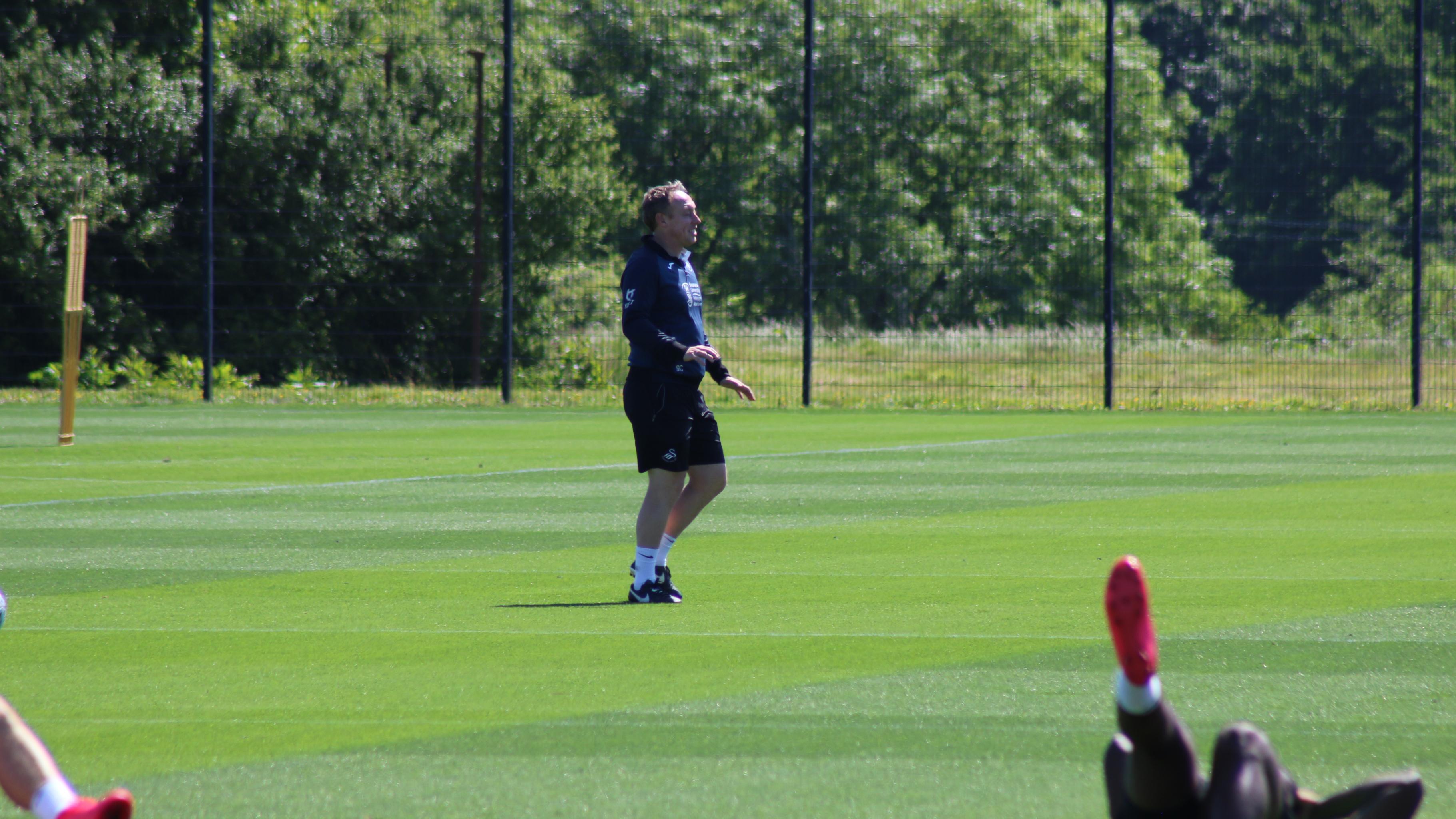 Steve Cooper training return