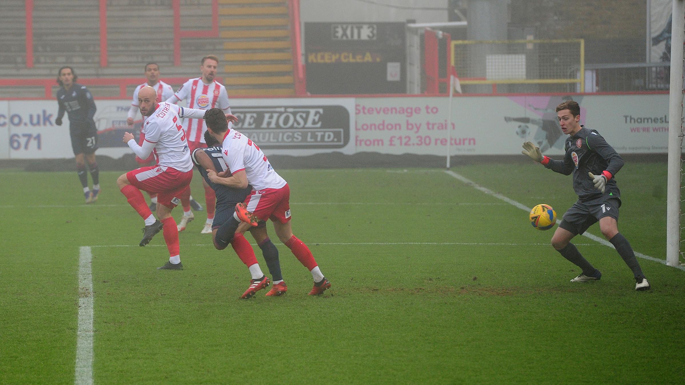 Wayne Routledge goal Stevenage