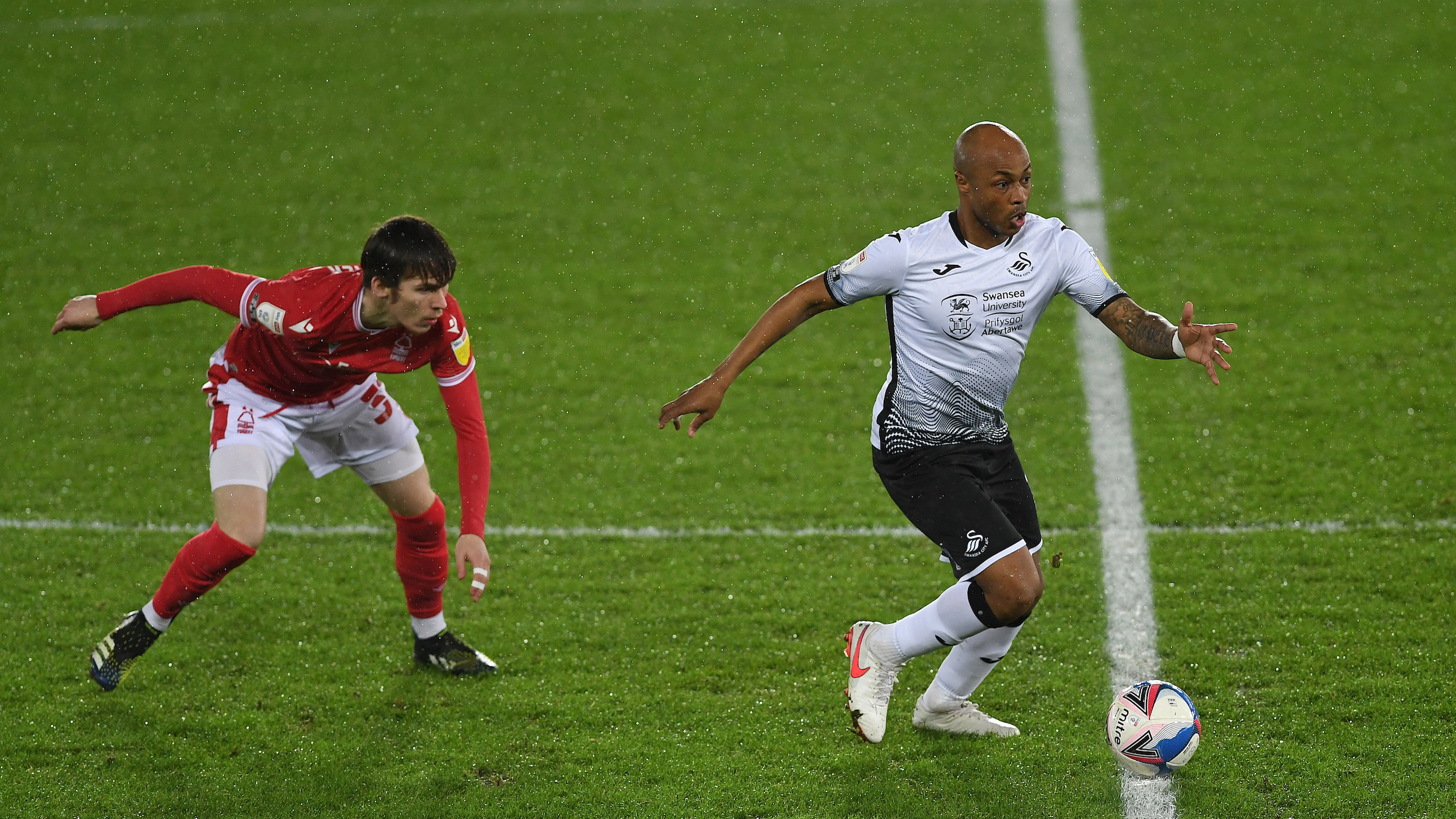 Forest home Andre Ayew