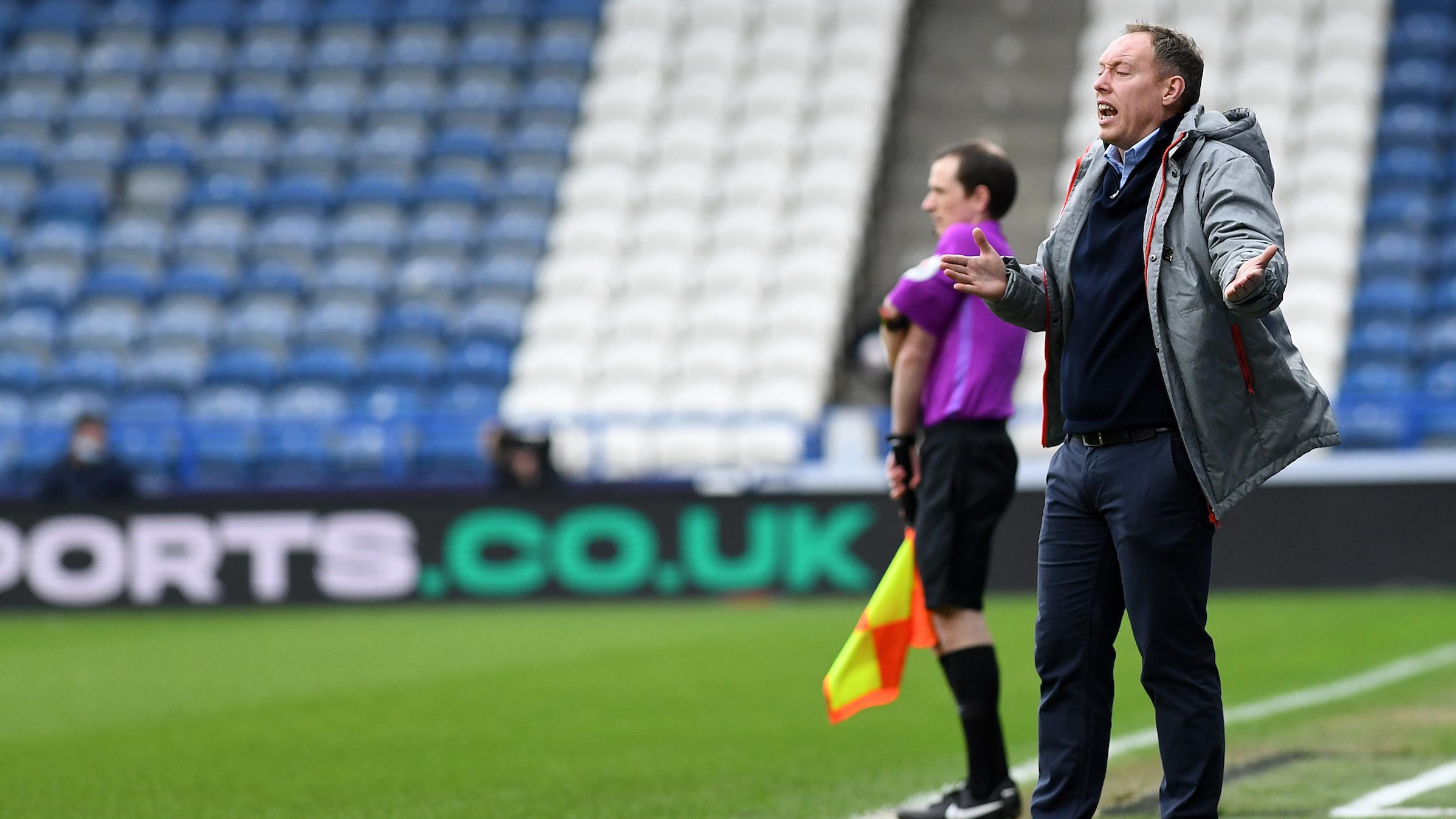 Huddersfield away Steve Cooper