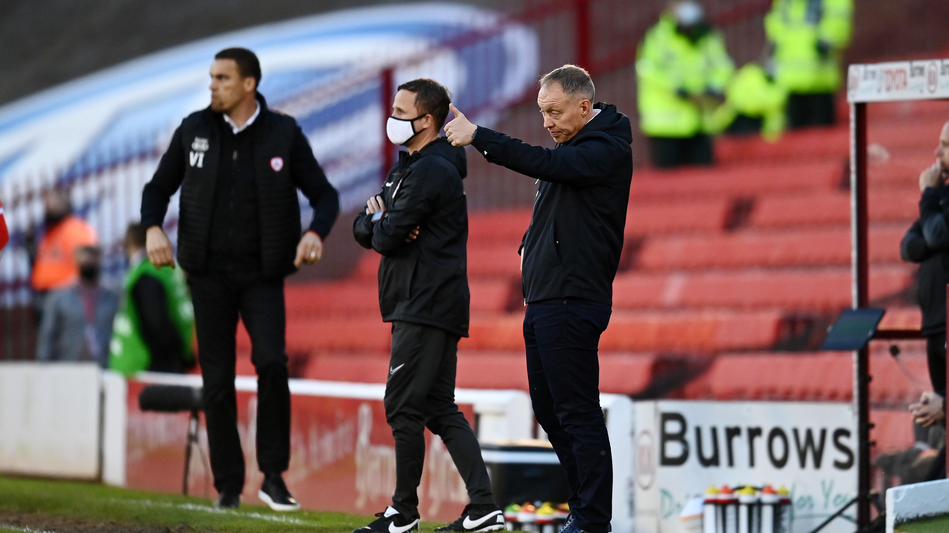 Barnsley away PO Steve Cooper