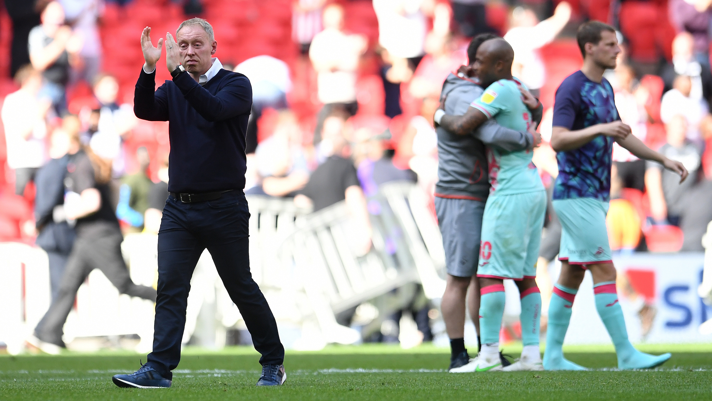 Steve Cooper Wembley