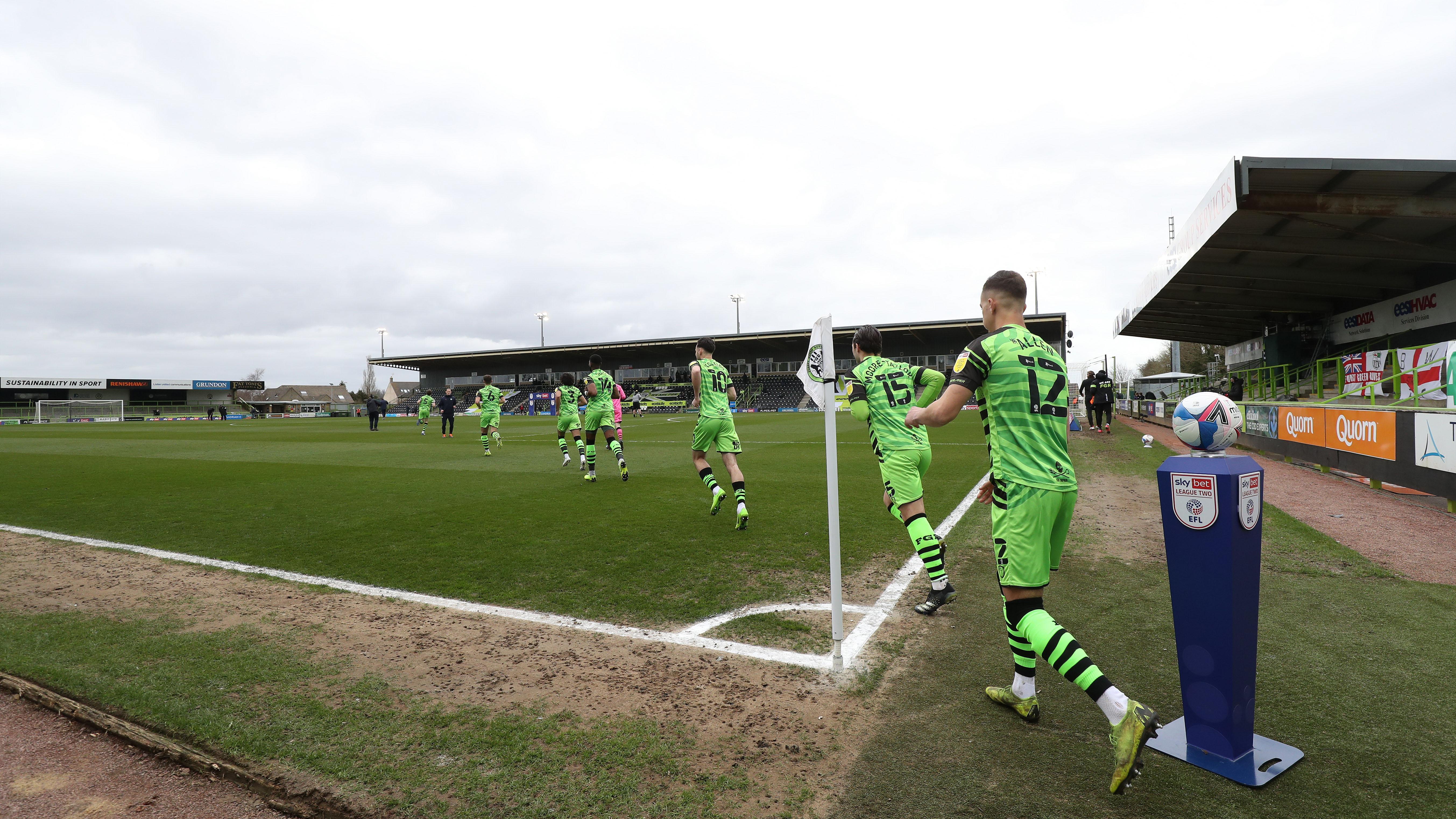 Forest Green stadium