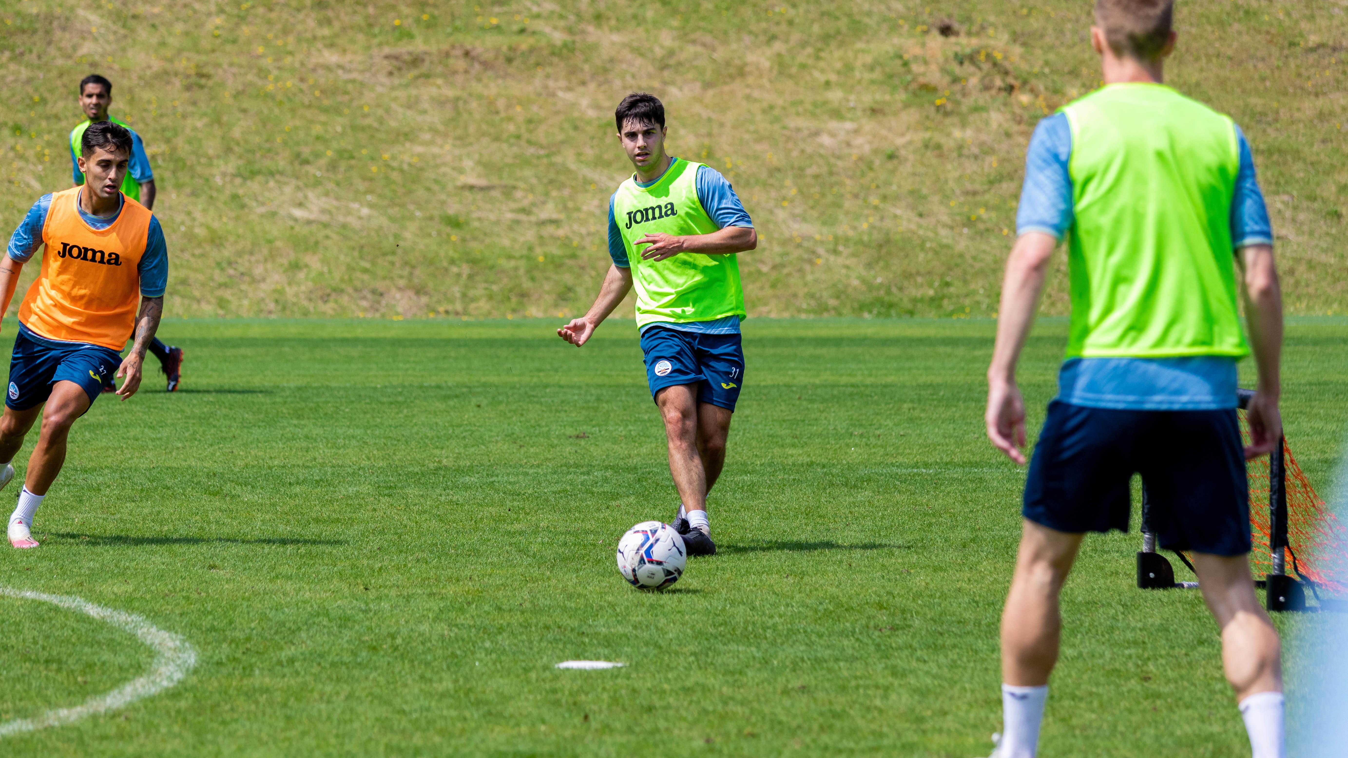 Swansea City training
