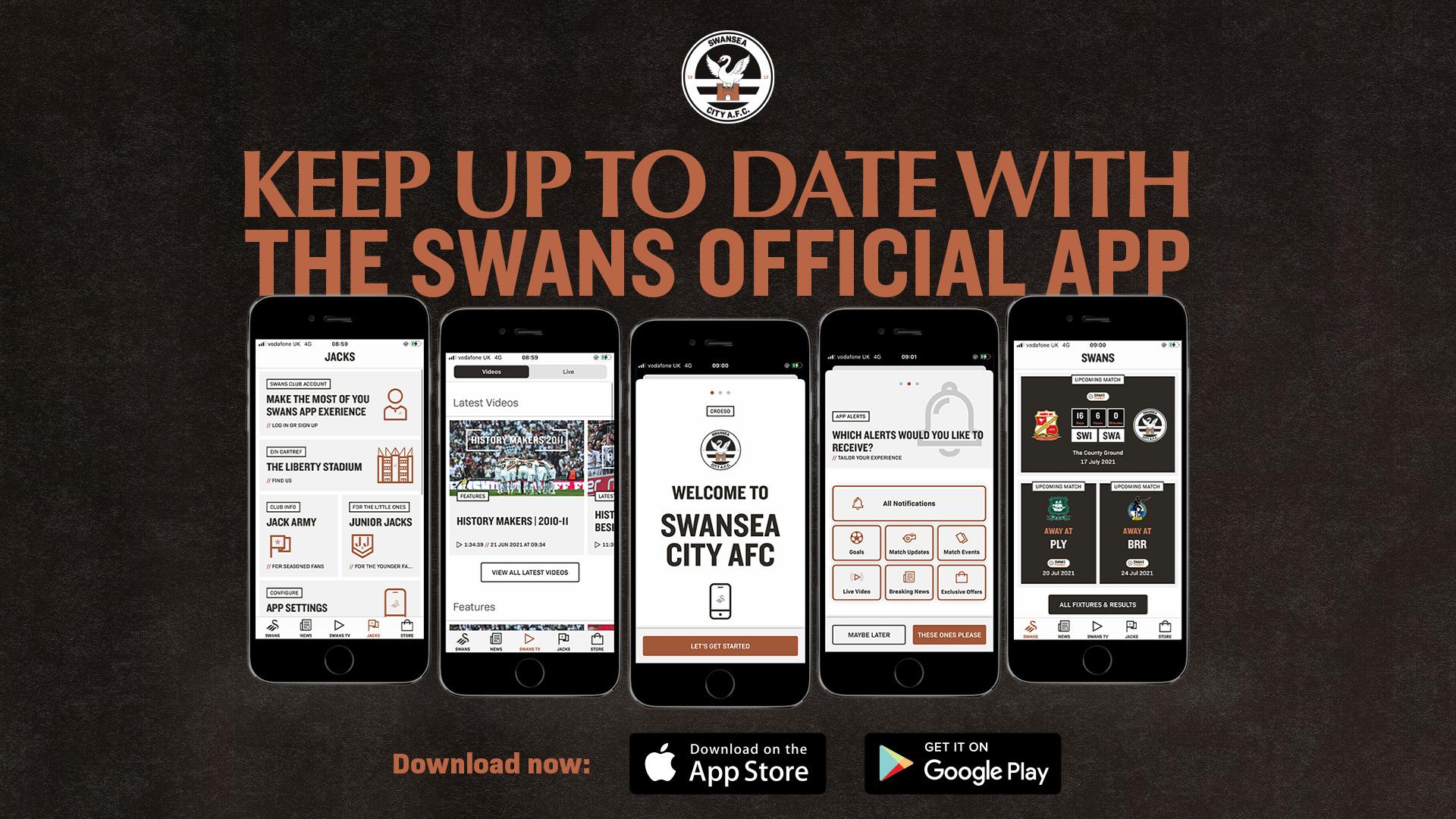 New Swans app 2