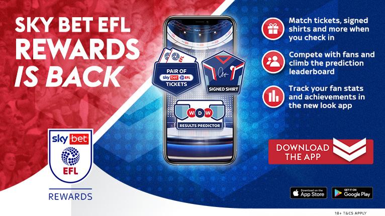 EFL Rewards 2021-22