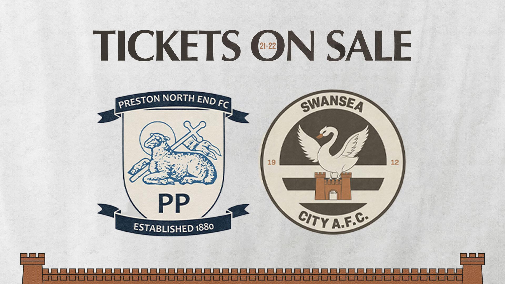 Preston away tickets
