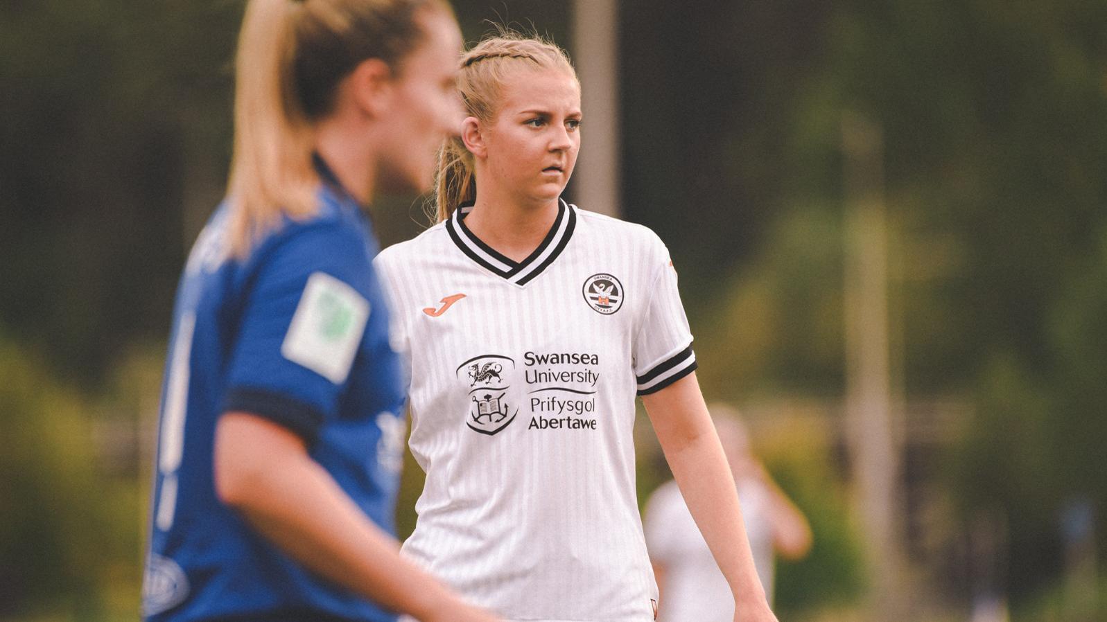 Rhianne Oakley thrilled to open account for Swansea City Ladies   Swansea
