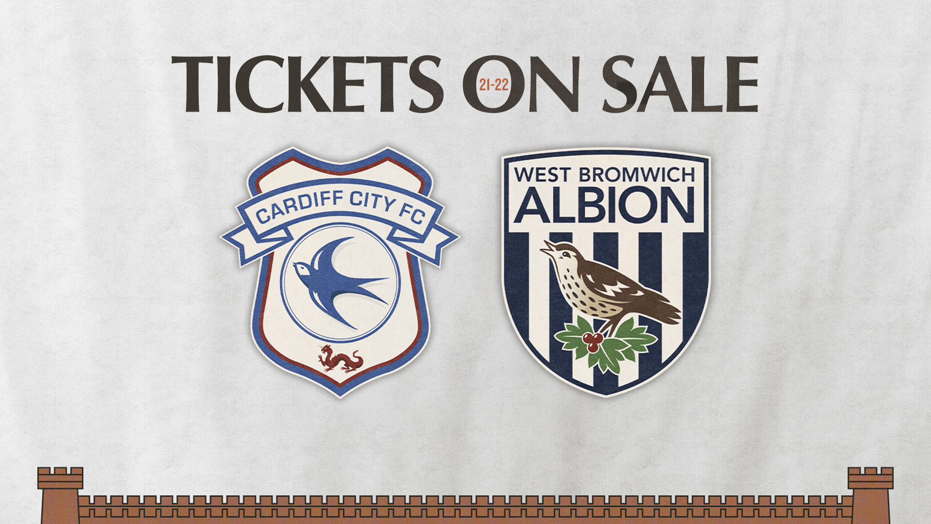 Cardiff and WBA tickets