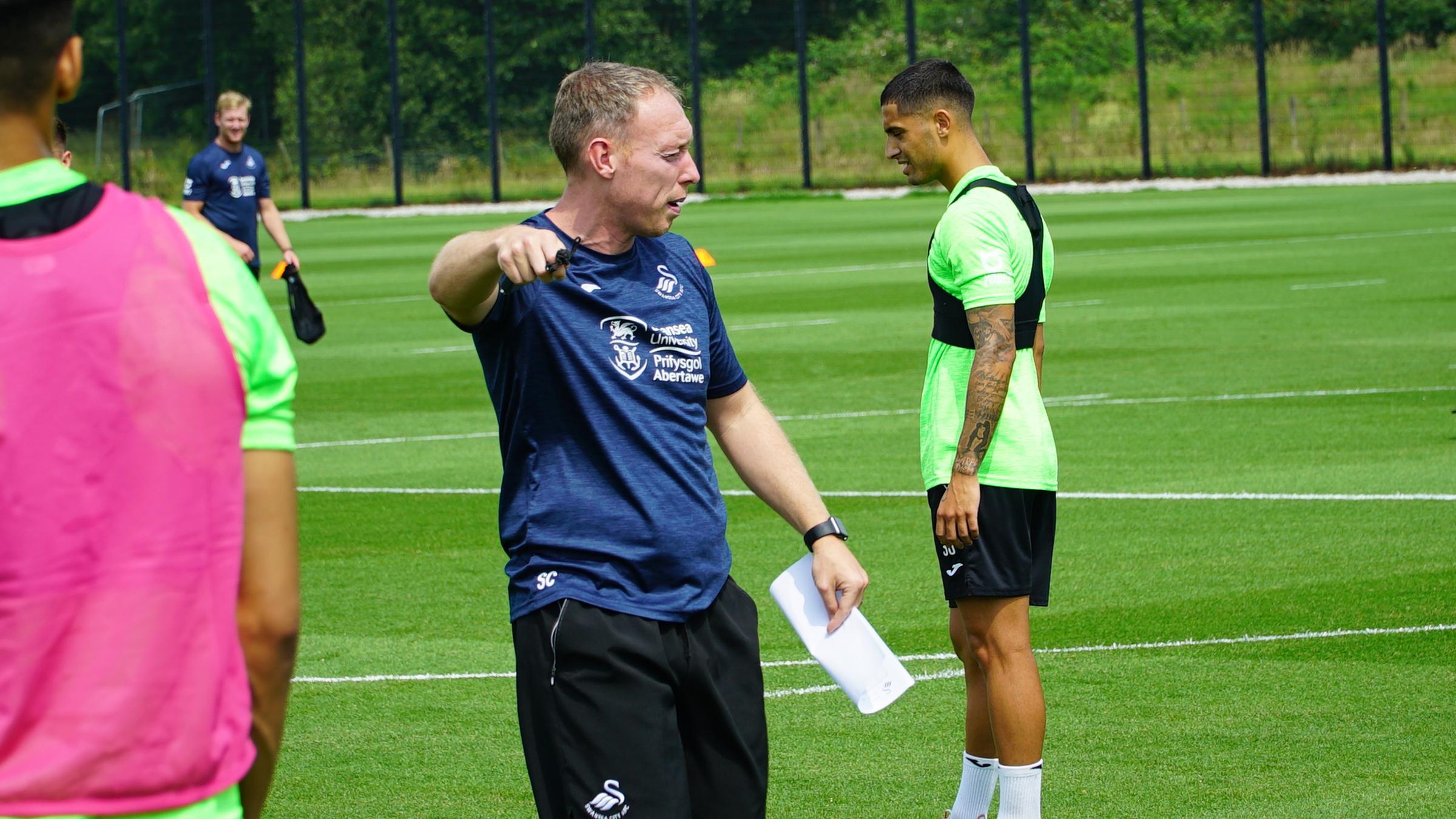Swansea City head coach Steve Cooper.