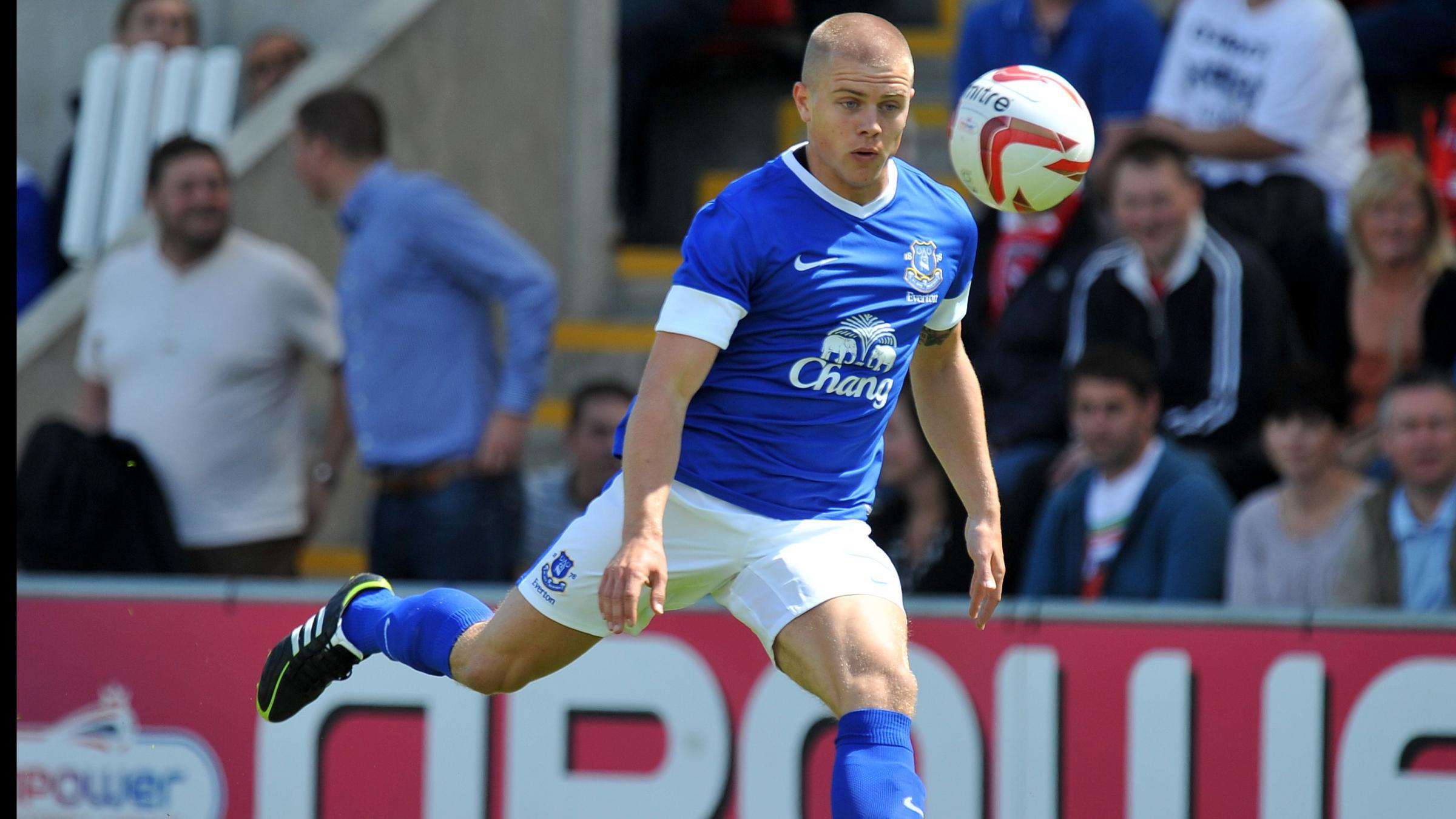 Bidwell at Everton
