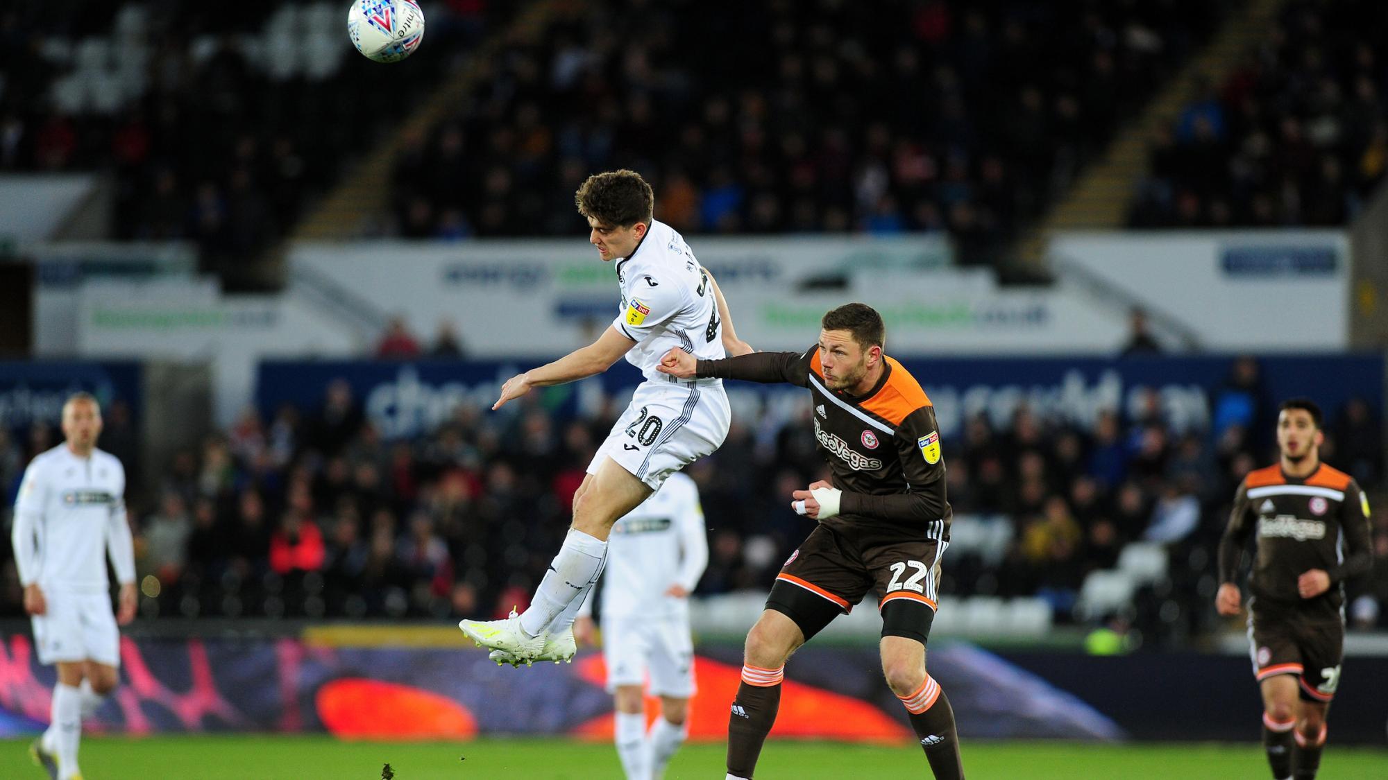 Highlights: Swans 3 Brentford 0   Swansea