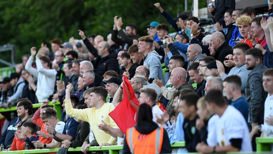 Fan gallery   Forest Green Rovers v Swansea City